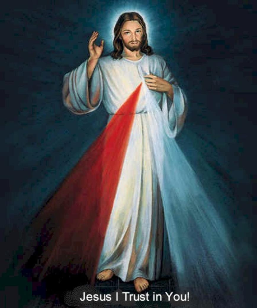 "The ""Merciful Jesus""...the Image of DIVINE MERCY."
